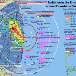 Photo: Radiation in the Environment around the Damaged Fukushima Daiichi NPS. Courtesy of Jerry Cuttler.