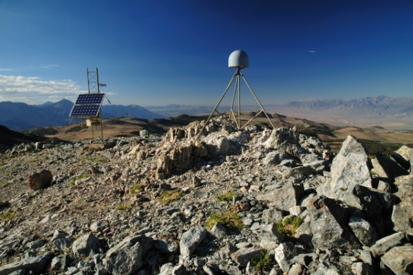 A GPS Station in the Sierra Nevada