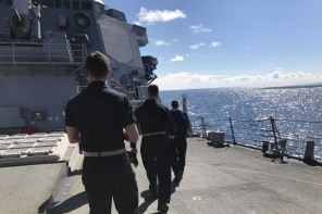 A Day at Sea Aboard the USS Howard